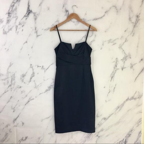 7d0f20fda73ef White House Black Market Dresses   Whbm Satin Rockabilly Sheath ...